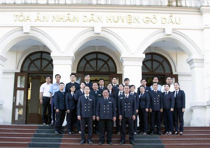 TAND huyện Gò Dầu: 44 năm hình thành và phát triển