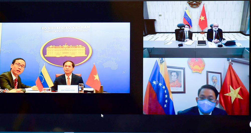 Việt Nam-Venezuela: Trao đổi các biện pháp kiểm soát dịch COVID-19 và phục hồi kinh tế
