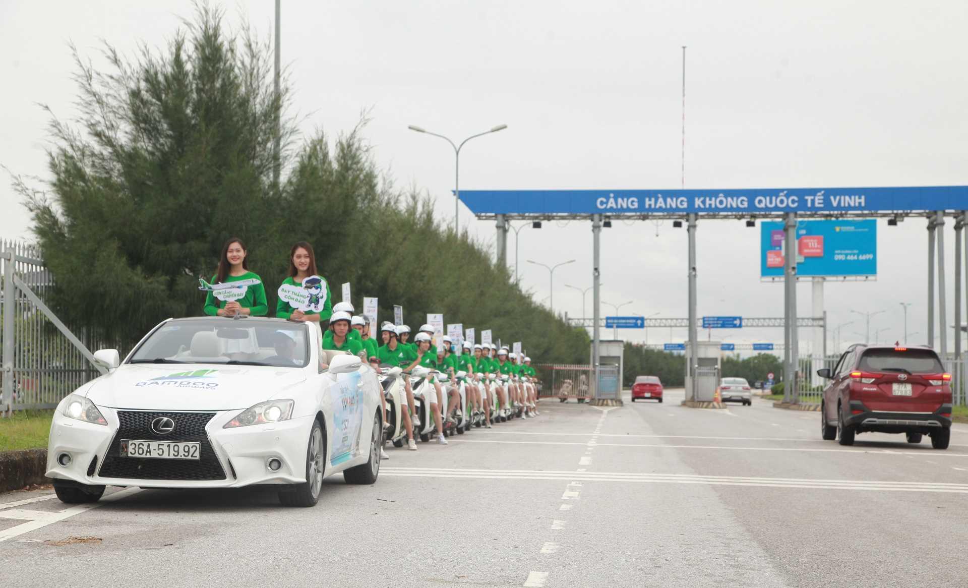 Bamboo Airways tưng bừng khởi động sự kiện kích cầu trước thềm khai trương ba đường bay thẳng Côn Đảo