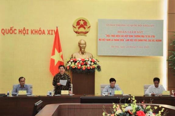 Đẩy nhanh xuất khẩu để tận dụng ưu đãi từ các FTA mà Việt Nam tham gia