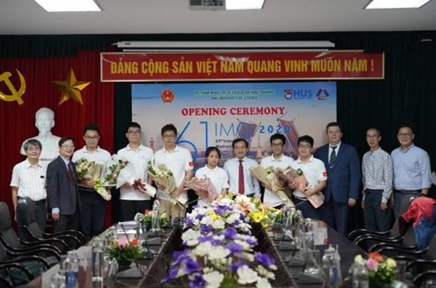 Lần đầu tiên Việt Nam có học sinh lớp 10 trong đội tuyển tham dự Olympic Toán quốc tế