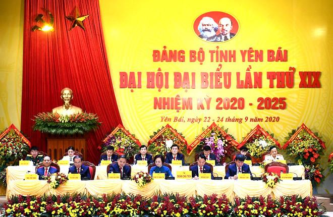 Thường trực Ban Bí thư nhấn mạnh 5 vấn đề tại Đại hội Đảng bộ tỉnh Yên Bái