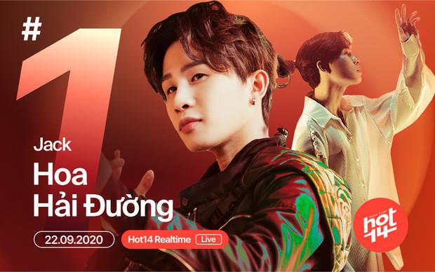 MV Hoa Hải Đường của Jack vượt Rap Việt, đạt top 1 trending YouTube sau 16 tiếng