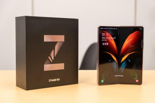 Galaxy Z Fold2 bán được 1.000 máy tại Việt Nam