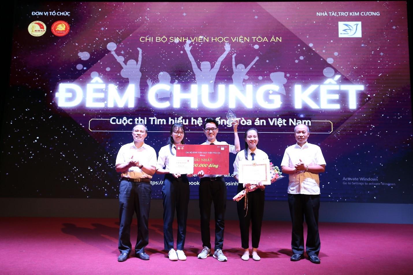 """Chung kết cuộc thi """"Tìm hiểu hệ thống Tòa án Việt Nam"""