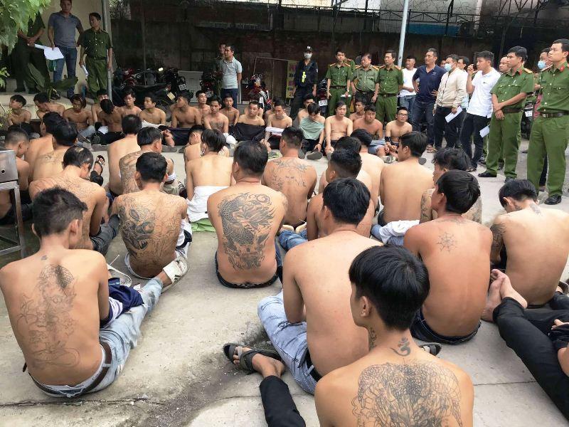 Tạm giữ hình sự 44 đối tượng trong vụ hỗn chiến tranh giành đất tại Đồng Nai