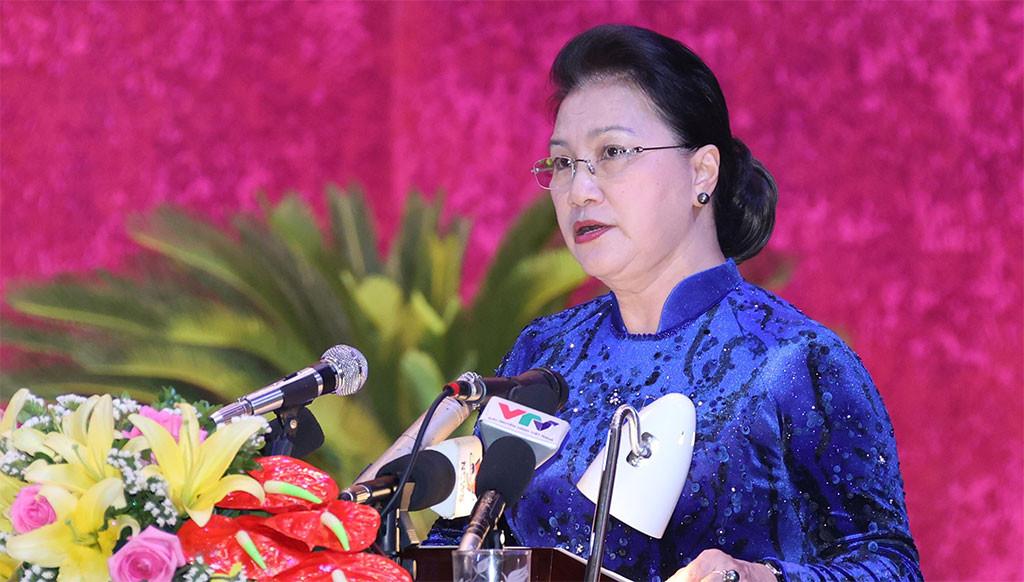 Chủ tịch Quốc hội: Hòa Bình cần nhận thức sâu sắc hơn về tầm quan trọng của công tác xây dựng Đảng