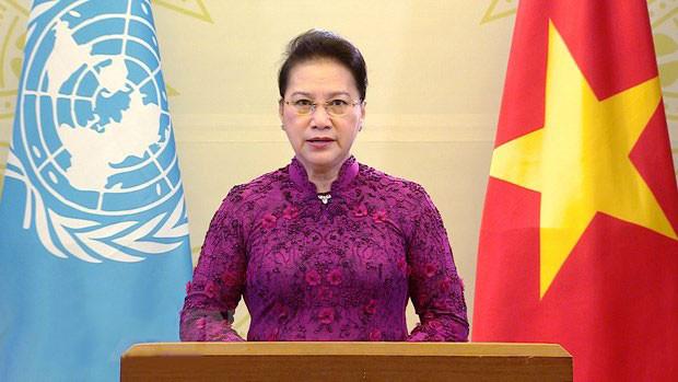 Chủ tịch Quốc hội gửi thông điệp tới Hội nghị thế giới lần thứ IV về phụ nữ