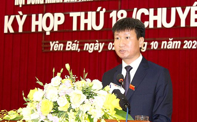 Yên Bái có tân Chủ tịch UBND tỉnh