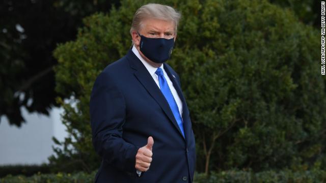 Tổng thống Trump đến Trung tâm Y tế Quân sự Quốc gia; Nhà Trắng truy vết tiếp xúc
