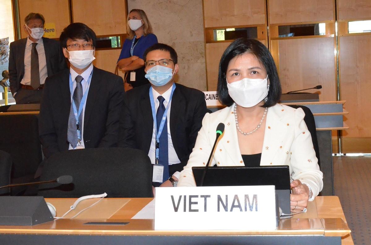 Việt Nam khẳng định chính sách nhất quán trong bảo vệ và thúc đẩy quyền con người
