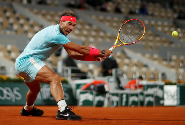 Nadal vào chung kết Pháp mở rộng 2020