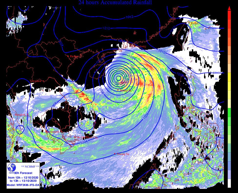 Bão số 7 hướng vào Bắc Bộ, miền Bắc đón đợt mưa lớn