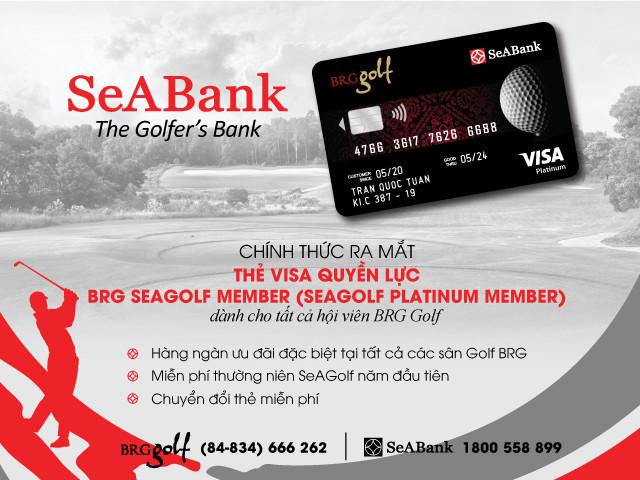 SeABank và BGR Group ra mắt thẻ cao cấp dành riêng cho hội viên BRG Golf