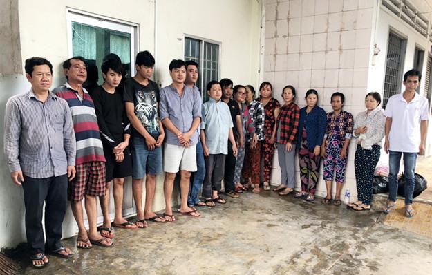 Khởi tố 16 đối tượng liên quan tới sới bạc khủng ở An Giang