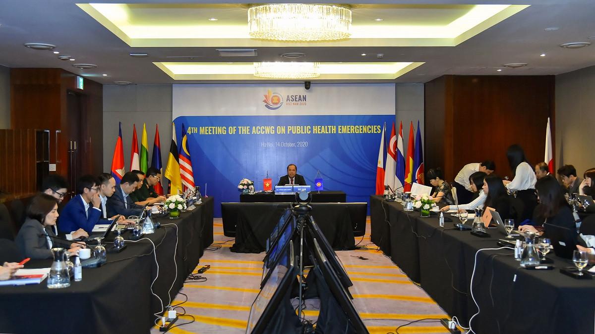 ASEAN kiểm điểm tiến trình hợp tác trong ứng phó với COVID-19