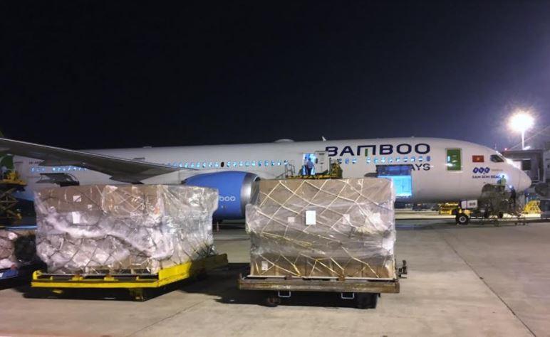 Bamboo Airways đẩy mạnh chở hàng hóa giá trị lớn trên tuyến Việt Nam - Hàn Quốc