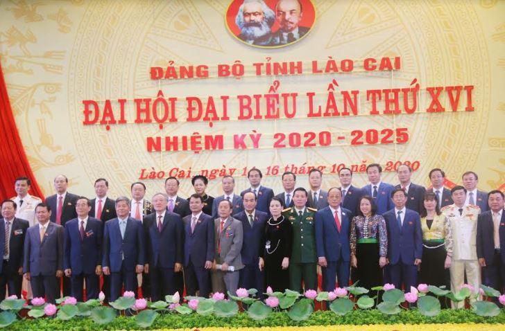 Bí thư Trung ương Đảng, Chánh án TANDTC Nguyễn Hòa Bình dự Đại hội đại biểu Đảng bộ tỉnh Lào Cai lần thứ XVI