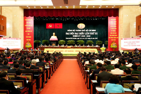 Khai mạc Đại hội đại biểu Đảng bộ TP Hồ Chí Minh khóa XI