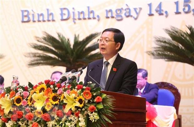 Chủ tịch UBND tỉnh Bình Định được bầu làm Bí thư Tỉnh ủy