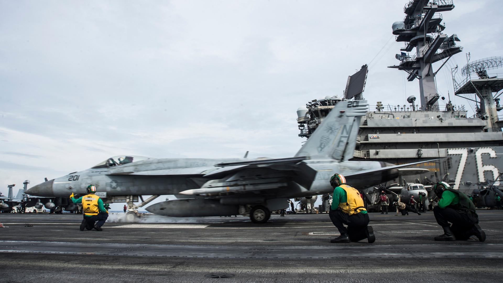 Nhóm tàu sân bay USS Ronald Reagan của Mỹ trở lại Biển Đông
