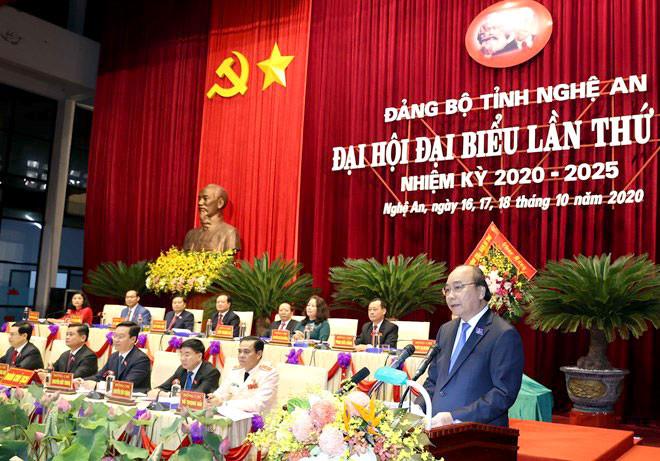 Thủ tướng: Nghệ An cần tạo cho được một kỳ tích sông Lam mà cả nước đang mong đợi