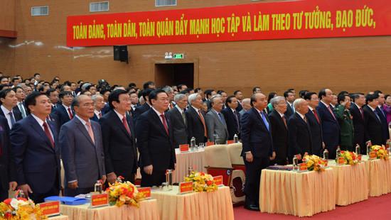 Khai mạc Đại hội đại biểu Đảng bộ tỉnh Nghệ An lần thứ XIX