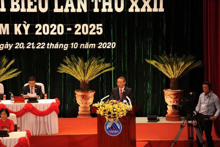 Khai mạc Đại hội đại biểu Đảng bộ TP Đà Nẵng lần thứ XXII, Nhiệm kỳ 2020-2025