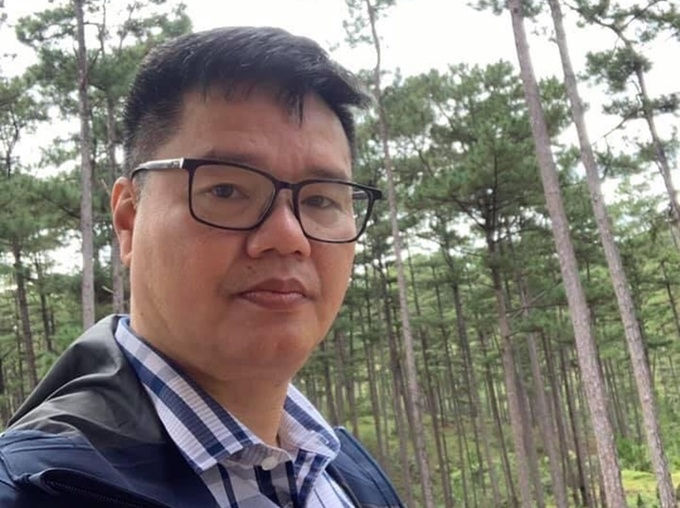 Nhà báo Mai Phan Lợi. Ảnh: Facebook nhân vật
