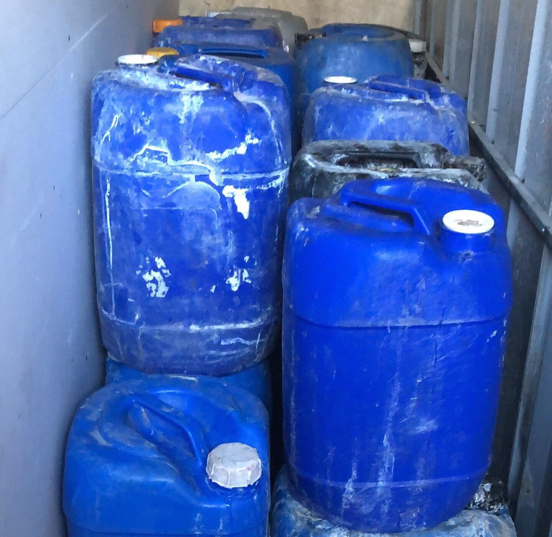 TP.HCM: Phát hiện hai cơ sở dùng hóa chất sơ chế ốc gần chợ Bình Điền - ảnh 2
