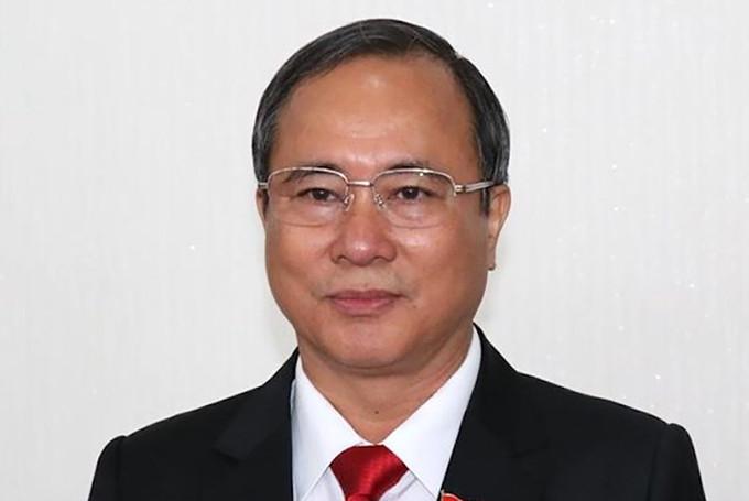 Cựu Bí thư Trần Văn Nam. Ảnh: PV.