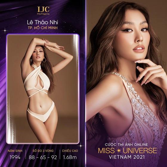 Dàn thí sinh ấn tượng tại cuộc thi ảnh online Hoa hậu Hoàn vũ Việt Nam 2021 ảnh 1
