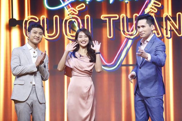 Thanh Sơn - Khả Ngân tiết lộ chuyện hậu trường oái oăm ở Cuộc hẹn cuối tuần - Ảnh 2.