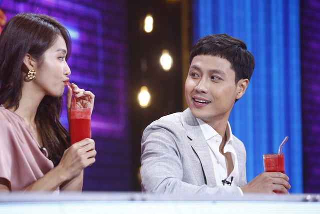 Thanh Sơn - Khả Ngân tiết lộ chuyện hậu trường oái oăm ở Cuộc hẹn cuối tuần - Ảnh 4.