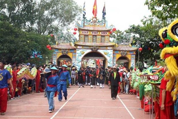 De nghi le hoi Dinh Thay Thim la di san van hoa phi vat the quoc gia hinh anh 1