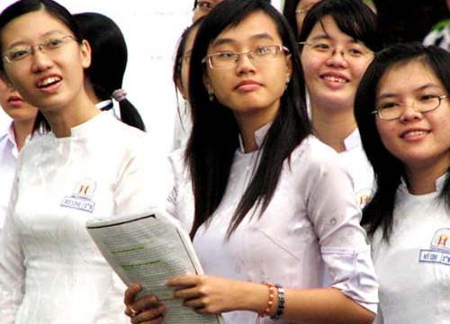 Công bố học sinh giỏi được tuyển thẳng đại học, cao đẳng 2012