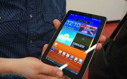 Galaxy Tab 7.7 - tablet Android Samsung