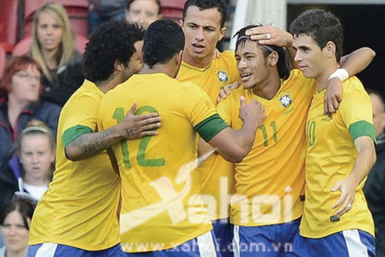 Olympic London 2012: Chưa đá Brazil đã... vô địch