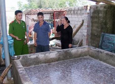 Cơ sở chế biến sứa xả thải trực tiếp ra môi trường