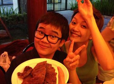 Thiều Bảo Trang - Phương Uyên quậy tưng trong bữa tiệc tại nhà Thanh Thảo