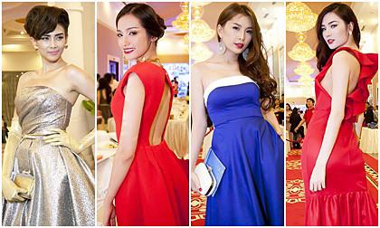 """Dàn mỹ nhân Việt """"đọ"""" sắc váy nổi bật trên thảm đỏ"""
