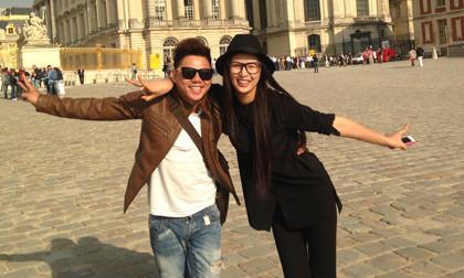 Phúc Nghĩa tháp tùng người đẹp Việt đến Châu Âu