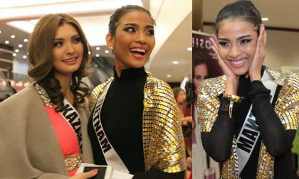 Các Hoa hậu nhận xét về Trương Thị May sau đêm chung kết