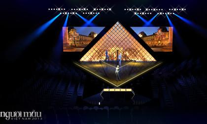 VNTM 2013 hé lộ sân khấu hình Kim tự tháp trong đêm chung kết