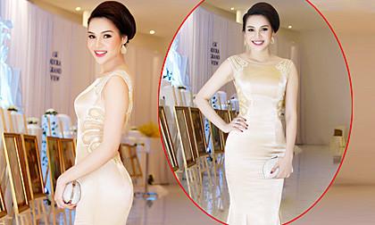 Hoa hậu Diệu Hân diện váy đuôi cá khoe vòng 3 đẹp gợi cảm