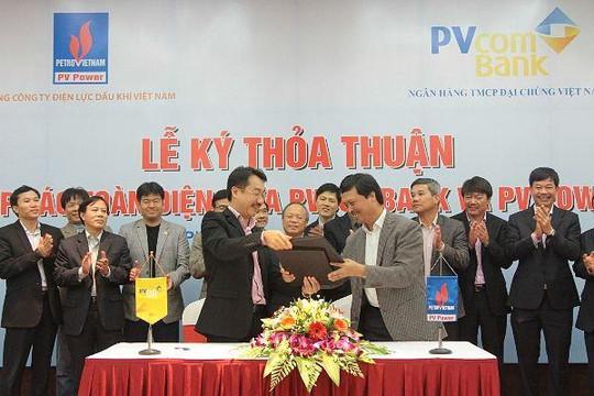 PVcomBank sẽ hỗ trợ tài chính cho Tổng công ty Điện lực Dầu khí