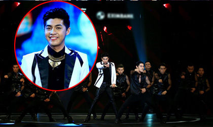"""HTV Awards 2014: Noo Phước Thịnh """"chơi trội"""" với vũ đoàn khủng"""