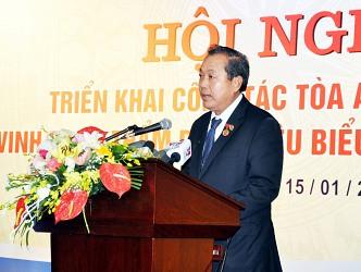 """Tiếp tục hoàn thiện mô hình tổ chức và hoạt động của TAND, tương xứng với chức năng, nhiệm vụ """"Tòa án là cơ quan xét xử của nước CHXHCN Việt Nam, thực hiện quyền tư pháp"""" (kỳ 1)"""