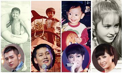 """Lộ ảnh thời bé """"siêu cute"""" của hàng loạt sao"""