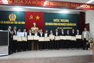 TAND tỉnh Lâm Đồng tổ chức Hội nghị tập huấn công tác nghiệp vụ